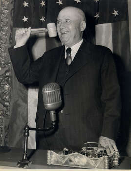 Sam Rayburn: A Democrat from Bonham, the congressman was the longest-serving Speaker of the U.S. House at 17 years, and at the time of his death, the longest-serving congressman ever at 48 years. Photo: Associated Press