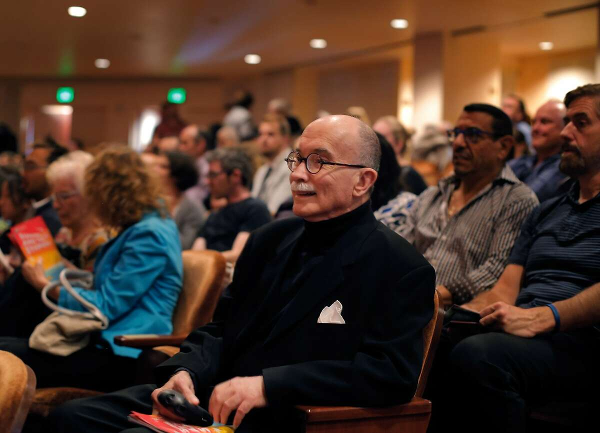 William Lonon Smith waits in his seat for the show to start at Davies Symphony Hall in San Francisco, Calif., on Thursday, July 24, 2014. Smith is a San Francisco patron of the arts and gives his support by attending shows, movies and film festivals on a nightly basis.