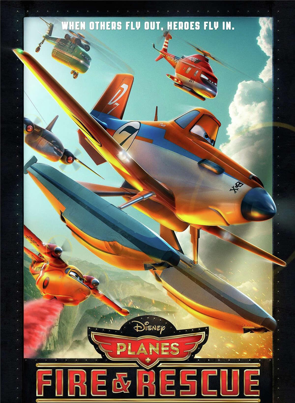 """Our film critic, Susan Granger, reviews, """"Planes: Fire & Rescue."""""""