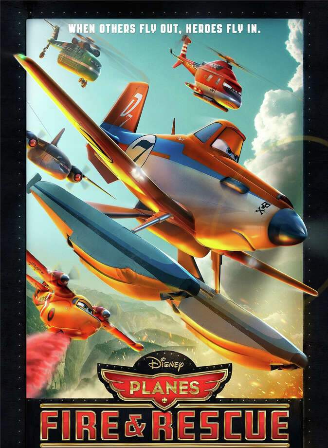 "Our film critic, Susan Granger, reviews, ""Planes: Fire & Rescue."" Photo: Contributed Photo, Contributed / New Canaan News Contributed"
