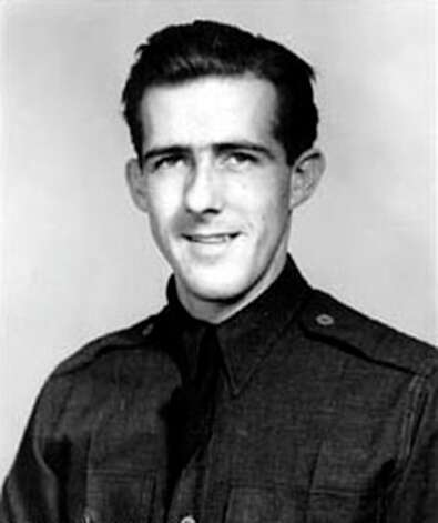 Major Thomas McGuire, 1920-1945World War IIMajor, U.S. Army Air Corps, 13th Air ForceOver Luzon, Philippine Islands, 25/26 December 1944He fought with conspicuous gallantry and intrepidity over Luzon, Philippine Islands. Voluntarily, he led a squadron of 15 P-38's as top cover for heavy bombers striking Mabalacat Airdrome, where his formation was attacked by 20 aggressive Japanese fighters. In the ensuing action he repeatedly flew to the aid of embattled comrades, driving off enemy assaults while himself under attack and at times outnumbered 3 to 1, and even after his guns jammed, continuing the fight by forcing a hostile plane into his wingman's line of fire. Before he started back to his base he had shot down 3 Zeros. The next day he again volunteered to lead escort fighters on a mission to strongly defended Clark Field. During the resultant engagement he again exposed himself to attacks so that he might rescue a crippled bomber. In rapid succession he shot down 1 aircraft, parried the attack of 4 enemy fighters, 1 of which he shot down, single-handedly engaged 3 more Japanese, destroying 1, and then shot down still another, his 38th victory in aerial combat. On 7 January 1945, while leading a voluntary fighter sweep over Los Negros Island, he risked an extremely hazardous maneuver at low altitude in an attempt to save a fellow flyer from attack, crashed, and was reported missing in action. With gallant initiative, deep and unselfish concern for the safety of others, and heroic determination to destroy the enemy at all costs, Maj. McGuire set an inspiring example in keeping with the highest traditions of the military service.  Photo: U.S. Air Force/Wikimedia Commons