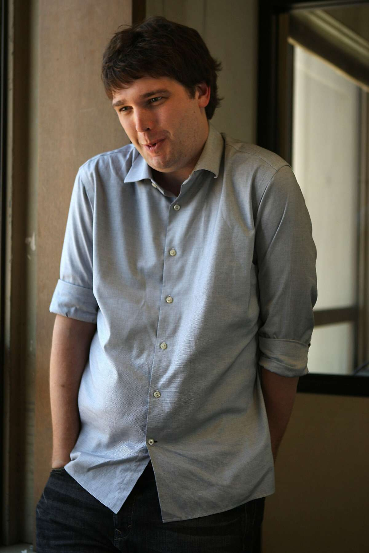 Andrew Mason, the founder of Groupon, an internet coupon service in San Francisco, Calif., on Thursday, July 29, 2010.