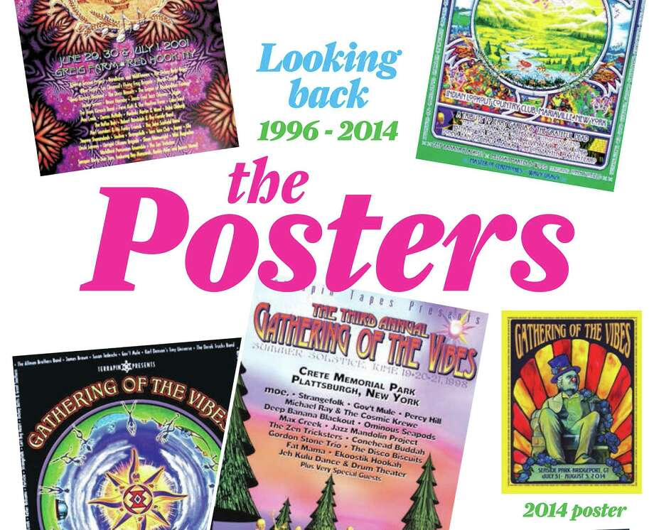 Print Prom for Gathering of the Vibes Poster pages - digital bonus content Photo: Contributed Photo / Connecticut Post Contributed