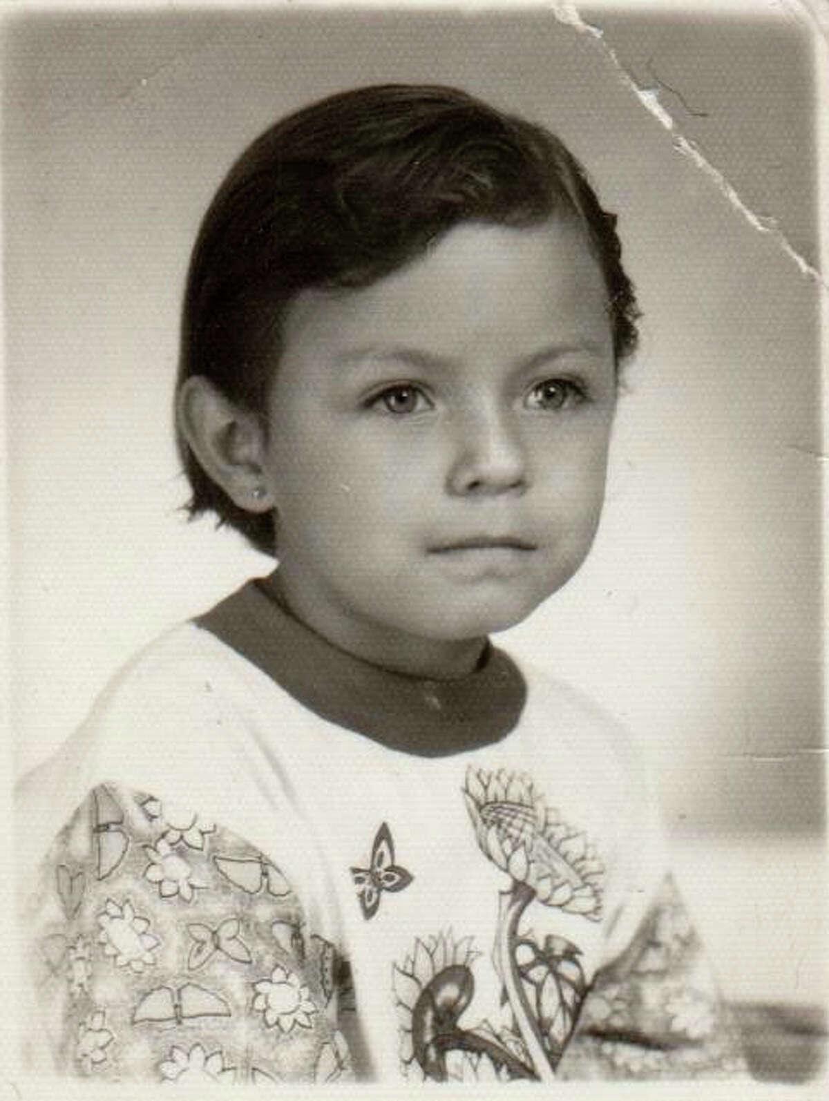 Claudia Maria Sarai Tujab at age 6 when she had her curative heart surgery in Guatamala.