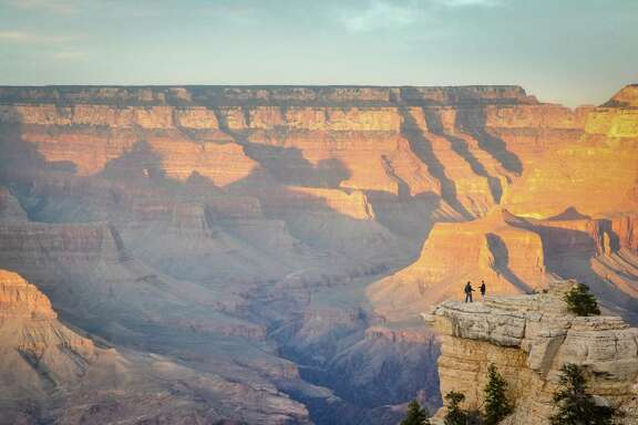 The Grand Canyon National Park's South Rim