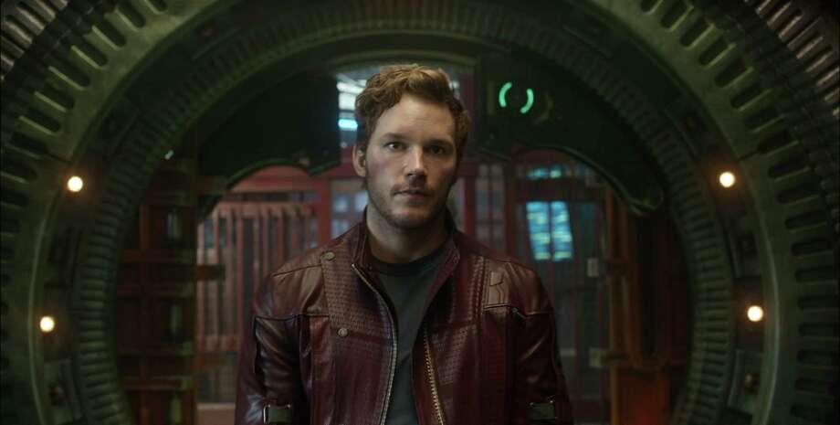 Marvel's Guardians Of The Galaxy Peter Quill/Star-Lord (Chris Pratt) Ph: Film Frame  ©Marvel 2014 Photo: Film Frame