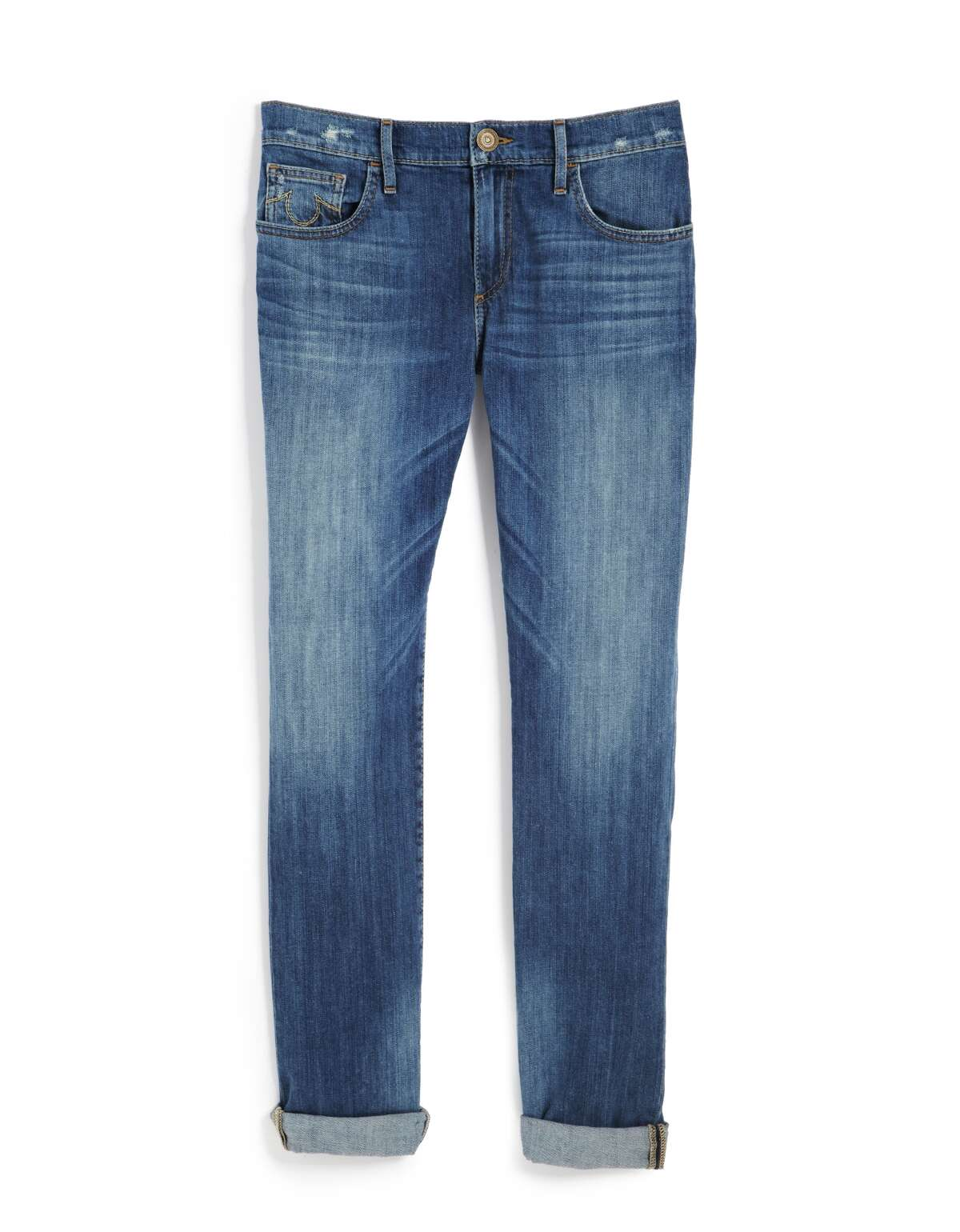 A staple is born On May 20, 1873, Levi Strauss and Jacob Davis received the patent for their denim blue jeans with copper rivets. Davis had invented them two years earlier.
