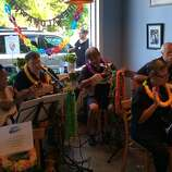Ono'z Cafe, which Oahu native Jocelyn Nelson opened with her husband, Tim, on Guerneville's Main Street in summer 2012, frequently invites local Hawaiian music troupes and dancers to perform on Friday nights. Friends of the Islands appear tonight (Aug. 1) from 6:30 to 8:30, with a special Hawaiian dinner menu available; the Sweet Strings ukulele duo plays Aug. 15 and 29 from 6 to 8 p.m.