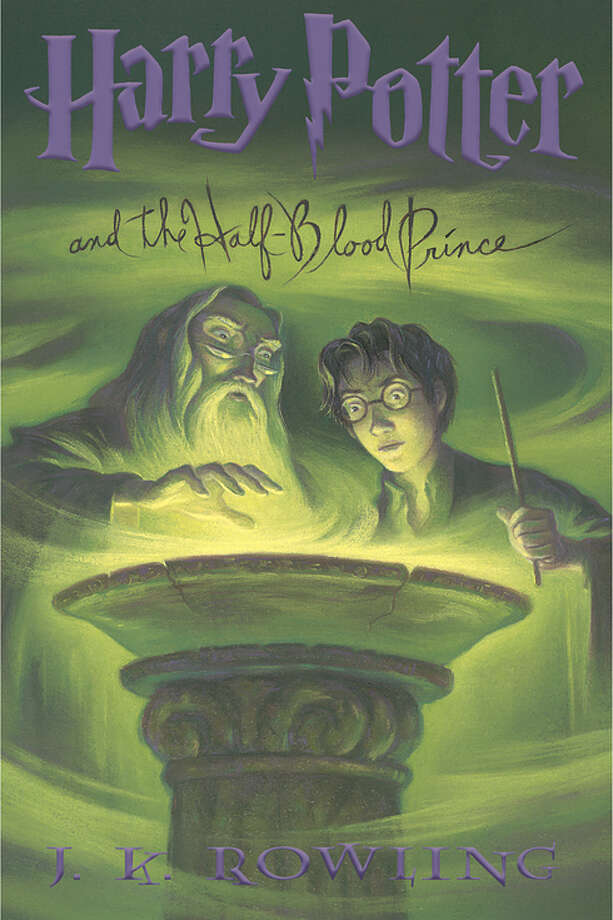 Harry Potter and the Half-Blood Prince (original) Photo: Bloomsbury, Scholastic