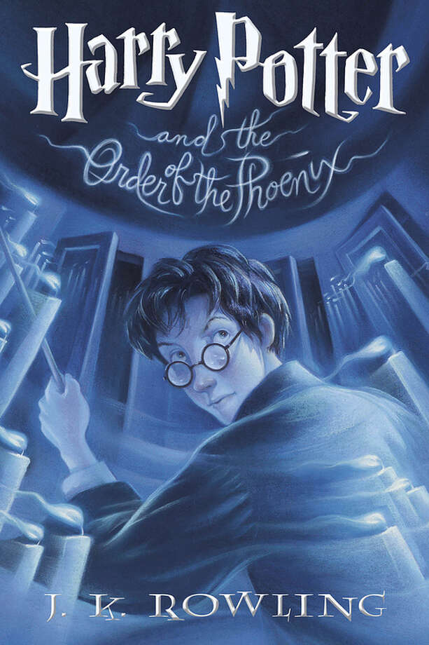 Harry Potter and the Order of the Phoenix (original) Photo: Bloomsbury, Scholastic