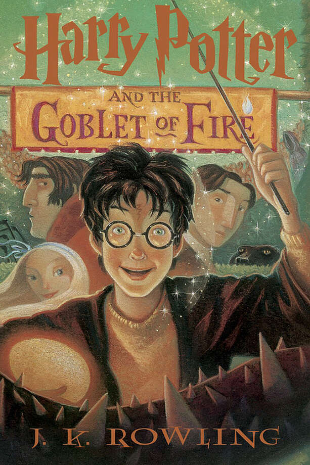 Harry Potter and the Goblet of Fire (original) Photo: Bloomsbury, Scholastic