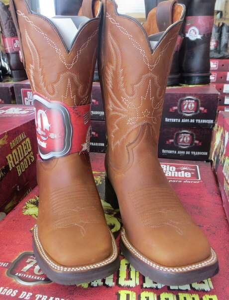 Tons of new boots  can be found at  Traders Village. Photo: Photos By Jennifer Rodriguez / For The Express-News