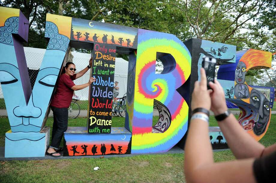 The annual Gathering of the Vibes music festival takes place Friday, Aug. 1, 2014 at Seaside Park in Bridgeport, Conn. Photo: Autumn Driscoll / Connecticut Post freelance