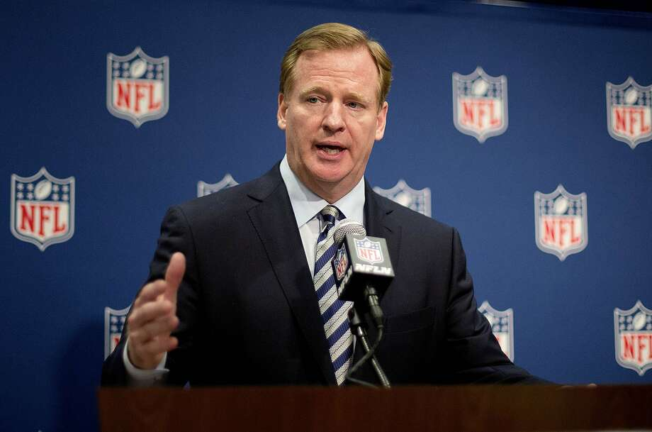Roger Goodell said Ray Rice's two-game suspension for a domestic violence arrest is consistent with other cases. Photo: David Goldman, Associated Press