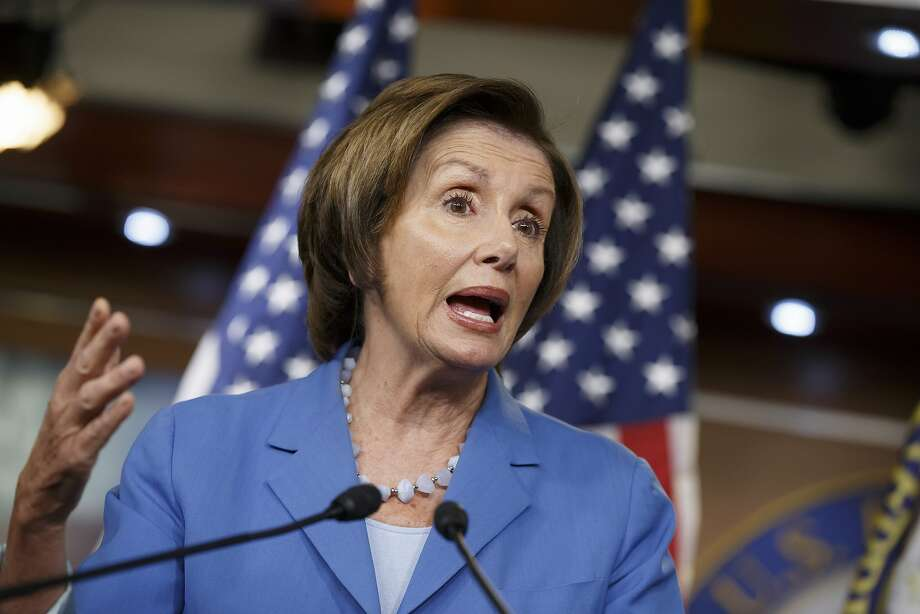 "Minority Leader Nancy Pelosi says of the GOP-backed House bill on the border crisis: ""They couldn't make it bad enough."" Photo: J. Scott Applewhite, Associated Press"