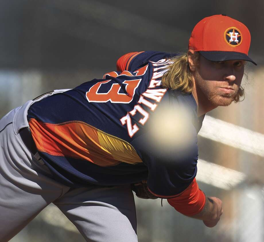 Hard-throwing righthander Mike Foltynewicz, 22, has been promoted from Class AAA Oklahoma City. Here are 10 things to know about the pitcher. Photo: Karen Warren, Houston Chronicle