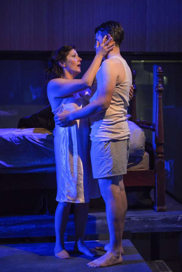 "Carrie Hennessey (left) as Sarah and Keith Phares as Maurice in ""The End of the Affair."" Photo: Mellopix"