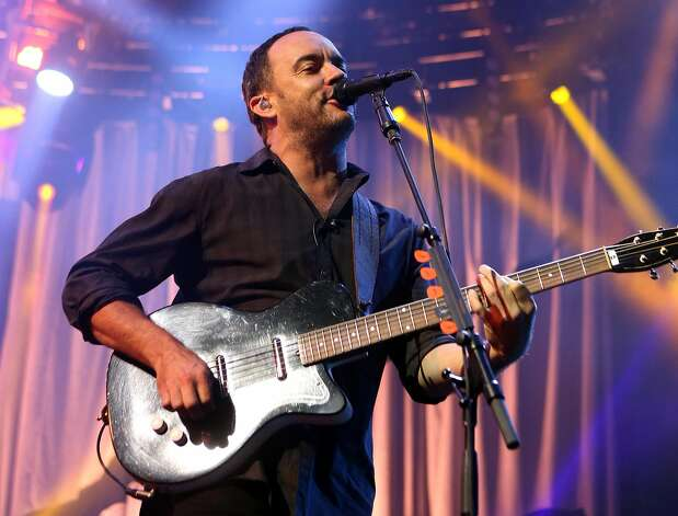 Concerts from artists such as the Dave Matthews Band were streamed on Yahoo. Photo: Owen Sweeney, Associated Press