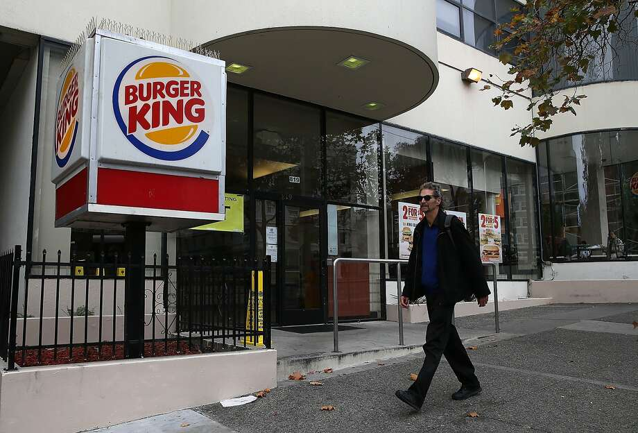 Despite minimal changes, Burger King's comparable-store sales increased 0.4 percent  in the United States and Canada last quarter, the third consecutive quarter of growth. Photo: Justin Sullivan, Getty Images