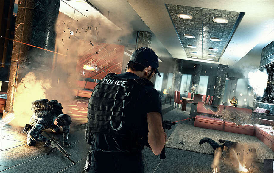 "Video game series ""Battlefield"" exits the battlefield with its next installment ""Battlefield: Hardline."" Photo: Courtesy Images"