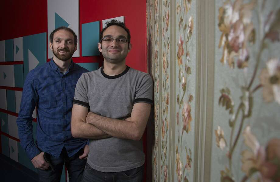 Rafi (left) and Benny Fine run a YouTube channel that has more than 9 million subscribers. Photo: Katie Falkenberg, McClatchy-Tribune News Service