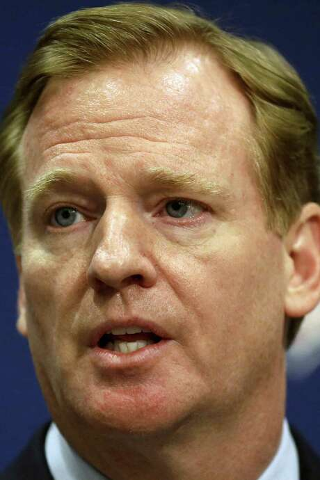 Roger Goodell says Ray Rice's two-game suspension is enough. / AP