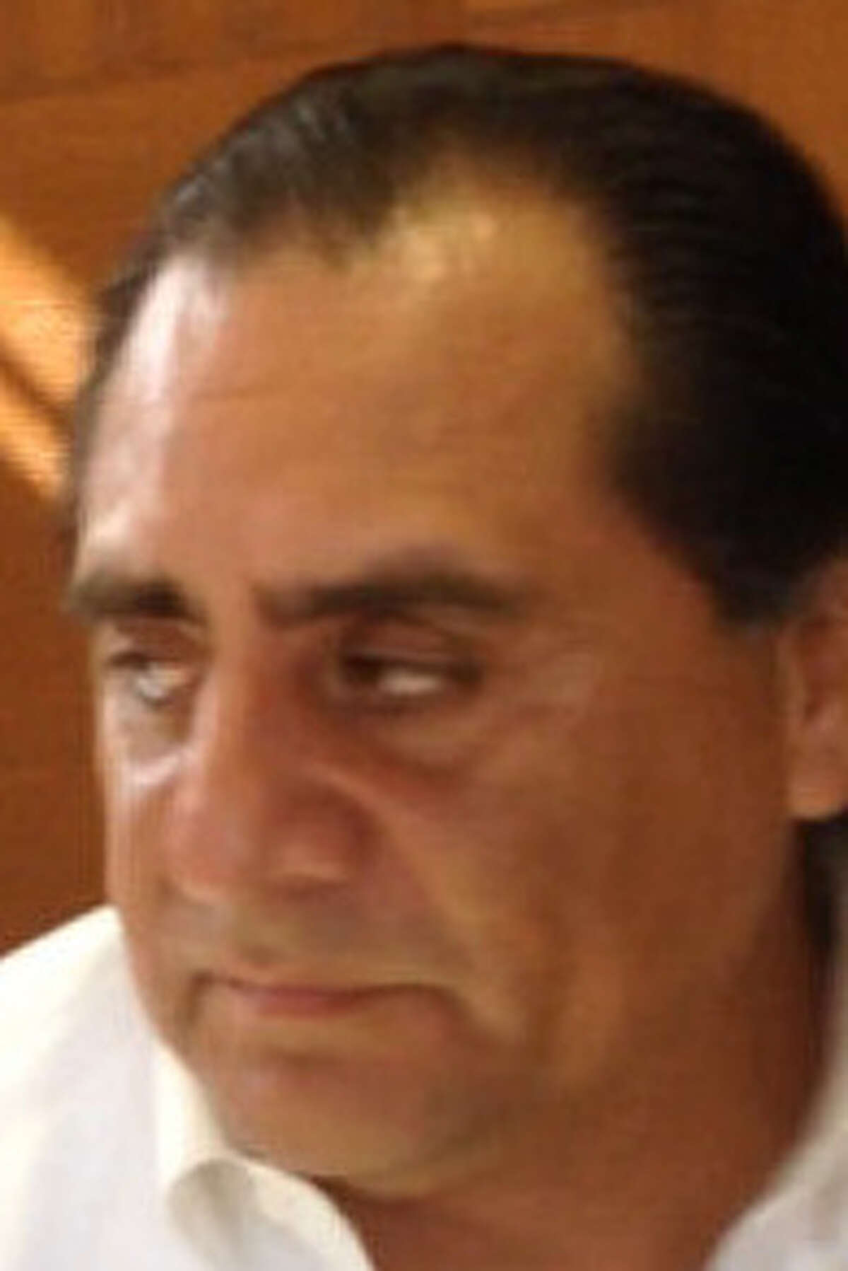 Laredo City Council Member Jorge Vera is booked into custody by the Loredo Police Department.