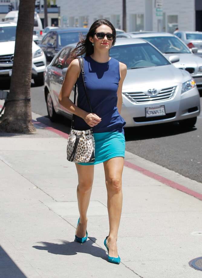 Emmy Rossum is seen on July 10, 2014 in Los Angeles, California. Photo: Bauer-Griffin, GC Images