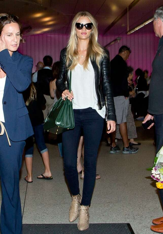 Rosie Huntington Whiteley seen at LAX on June 26, 2014 in Los Angeles, California. Photo: GVK/Bauer-Griffin, GC Images