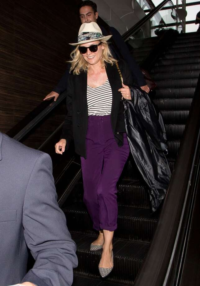 Diane Kruger seen at LAX on July 01, 2014 in Los Angeles, California. Photo: GVK/Bauer-Griffin, GC Images