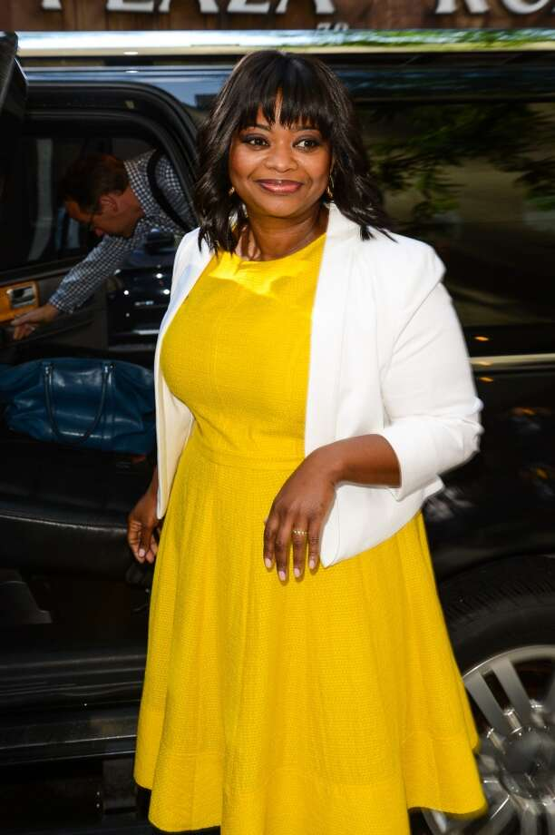 "Actress Octavia Spencer leaves the ""Today Show"" taping at the NBC Rockefeller Center Studios on July 17, 2014 in New York City. Photo: Ray Tamarra, GC Images"