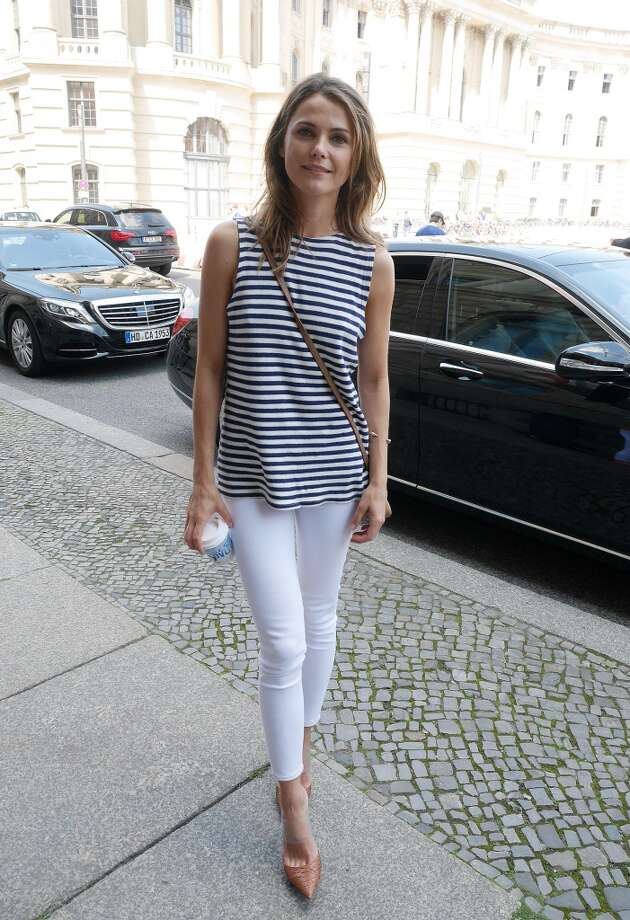 Actress Keri Russell sighted at the Hotel de Rome on July 18, 2014 in Berlin, Germany. Photo: Chad Buchanan, GC Images