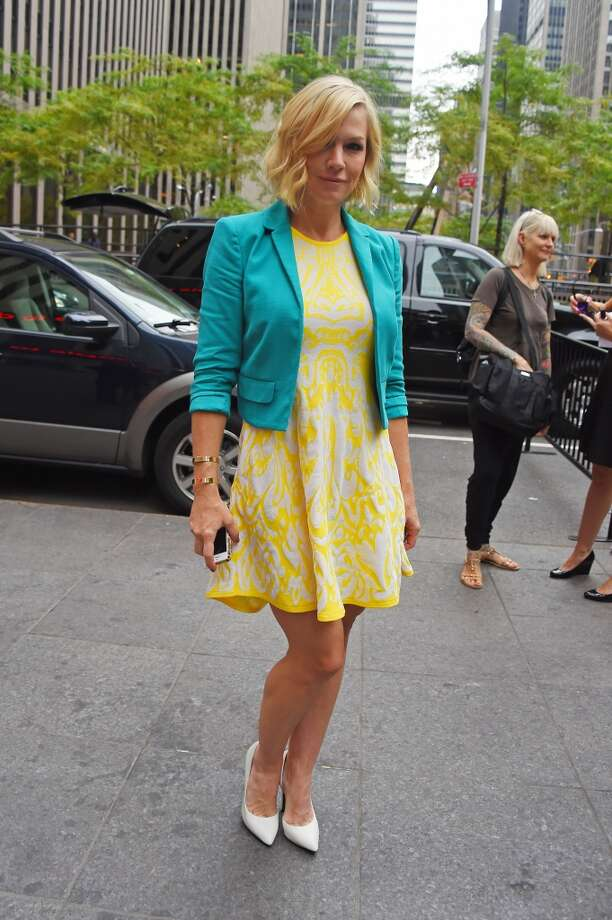 Jennie Garth sighting on July 24, 2014 in New York City. Photo: Josiah Kamau, BuzzFoto/FilmMagic