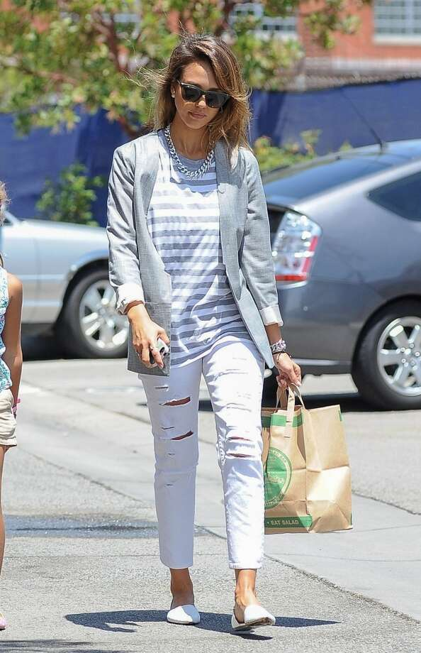 Jessica Alba is seen on July 25, 2014 in Los Angeles, California. Photo: Bauer-Griffin, GC Images