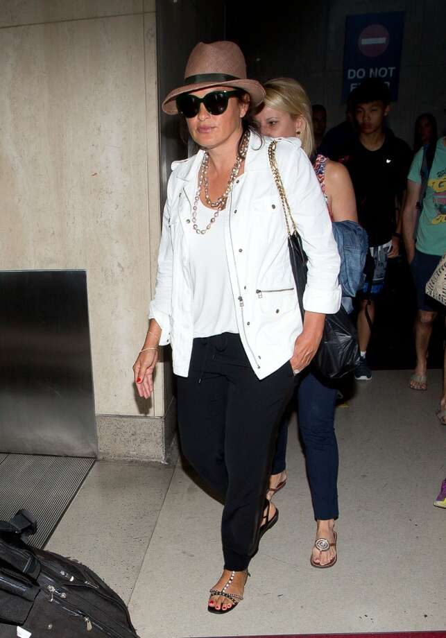 Mariska Hargitay seen at LAX on July 28, 2014 in Los Angeles, California. Photo: GVK/Bauer-Griffin, GC Images