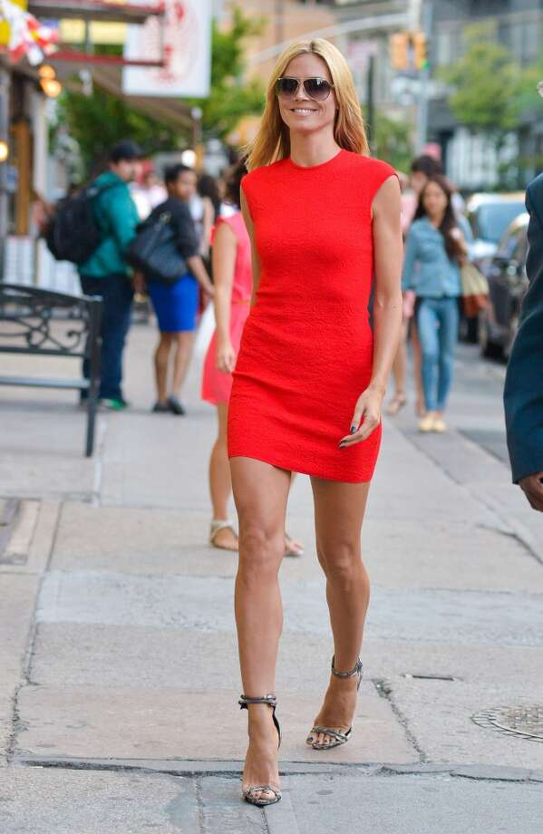 Heidi Klum is seen in New York City on June 24, 2014 in New York City. Photo: David Krieger/Bauer-Griffin, GC Images