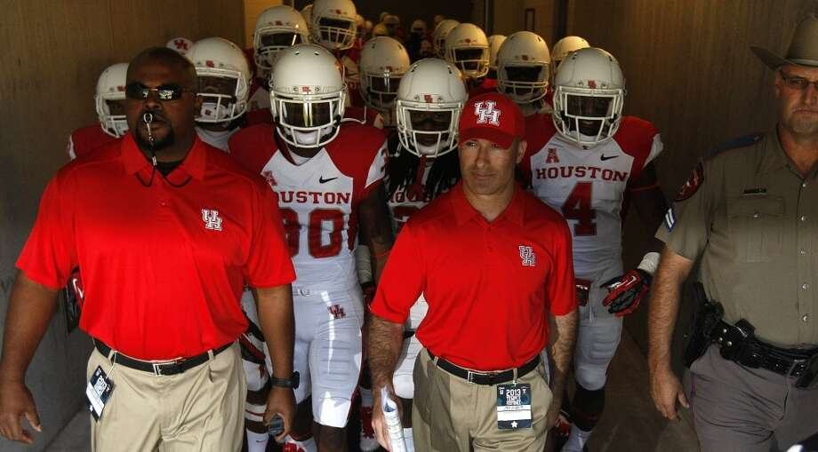 Tony Levine is entering his third full season as Coogs coach. Here's a look at the team's 2014 slate. Photo: Johnny Hanson , Houston Chronicle