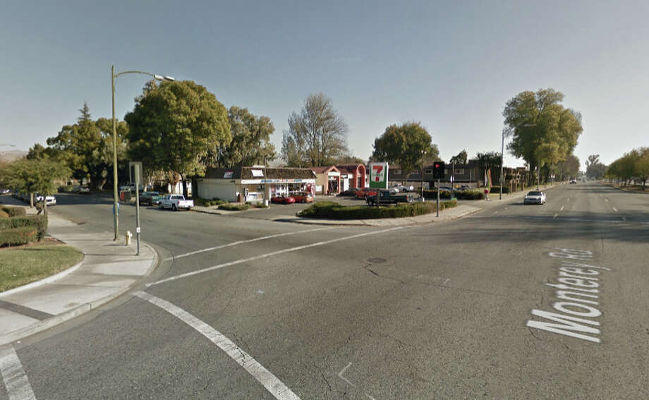 A man was fatally shot at Monterey Road and Edenview Drive, San Jose, CA last night. Photo: Google Maps