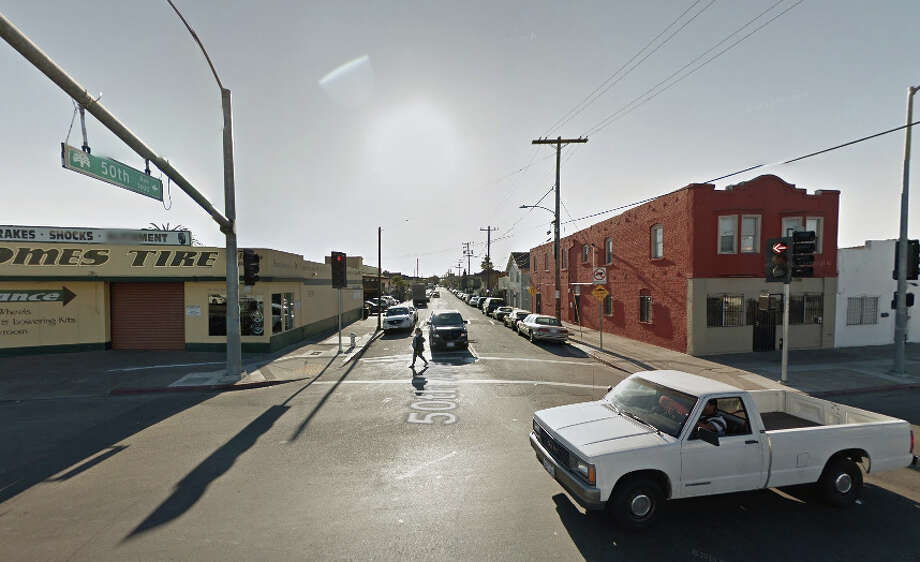 8600 block of International Boulevard, Oakland, CA Photo: Google Maps