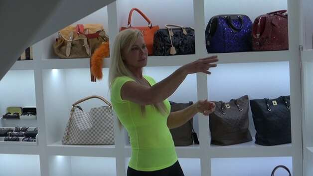 Theresa Roemer's luxury 3,000 foot closet recently appeared on Good Morning America.  Roemer fears the publicity made her a target for thieves who stolen an estimated $800,000 - $1 million in bags, furs, jewelry and watches, she says. Photo: Scott Engle/Montgomery County Police Reporter