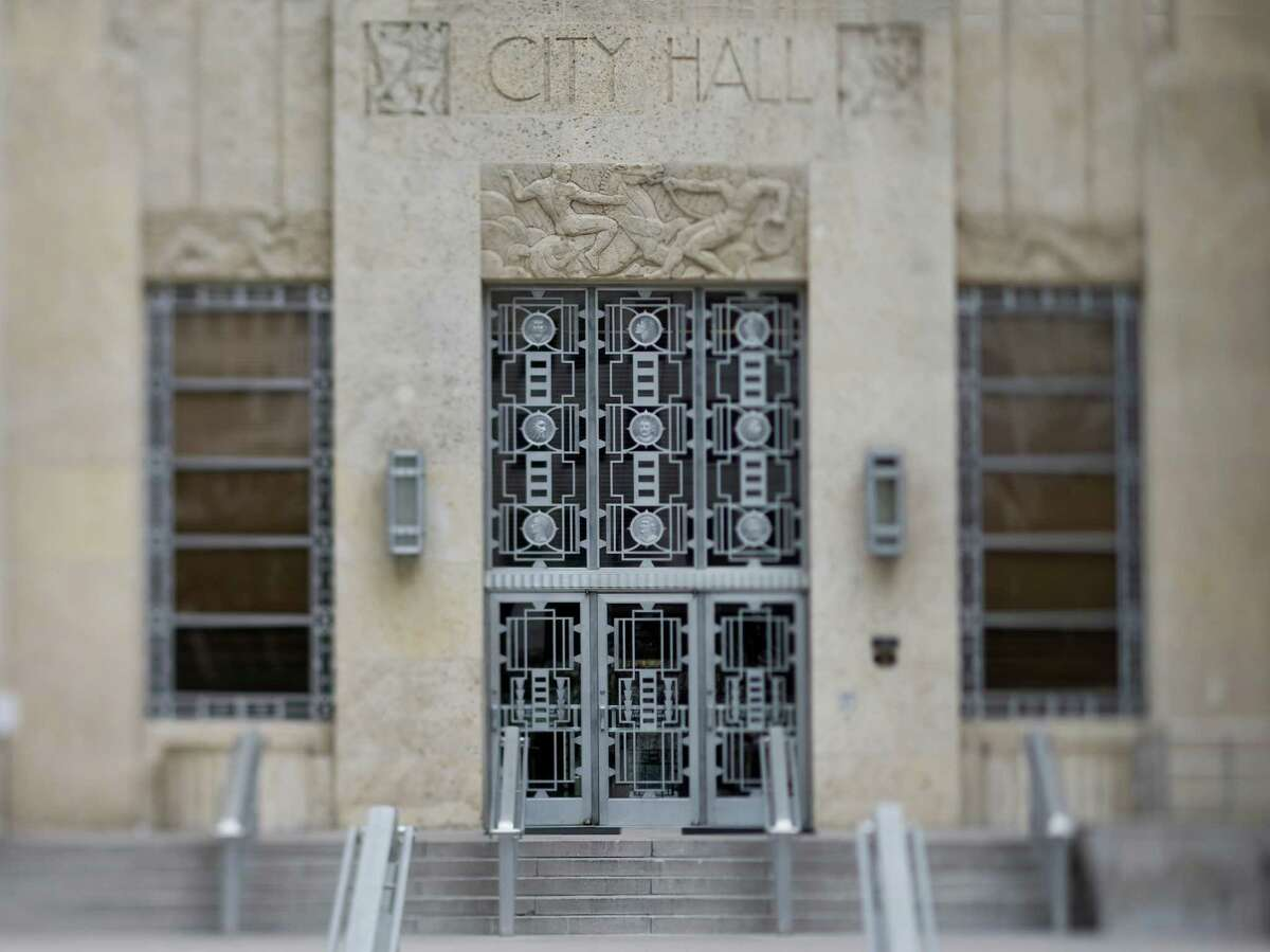 City Hall (Houston)New Deal Agencies: Public Works AdministrationStarted: 1938Completed: 1939Source: Living New Deal