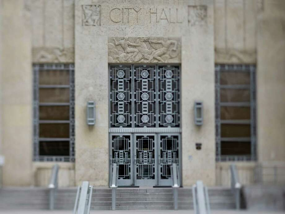 City Hall (Houston)New Deal Agencies: Public Works AdministrationStarted: 1938Completed: 1939Source: Living New Deal Photo: Nick De La Torre / Houston Chronicle