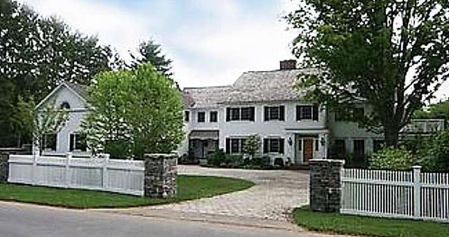 The property at 58 Clapboard Hill Road was recently sold for $3,135,000. Photo: Contributed Photo / Westport News