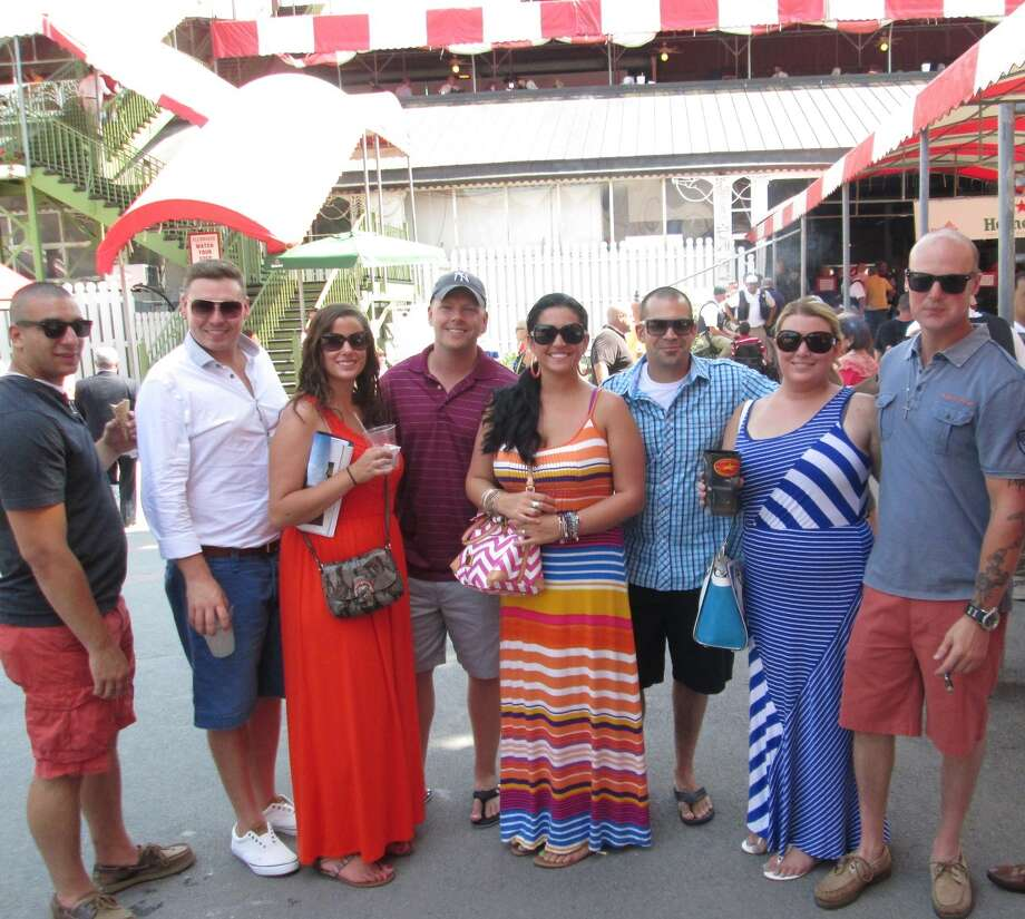 Were you Seen at Whitney Day at the Saratoga Race Course in Saratoga Springs on Saturday, Aug. 2, 2014? Photo: Lauren Lasky