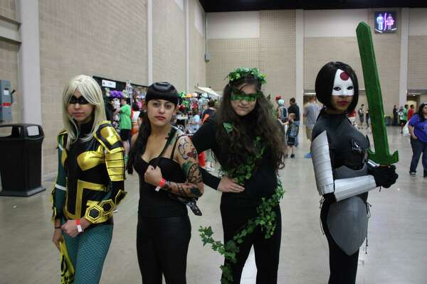 Fans and superfans alike arrived to meet celebs and get merch at Wizard World's San Antonio Comic Con on Saturday, Aug. 2, 2014, at the Henry B. Gonzalez Convention Center.
