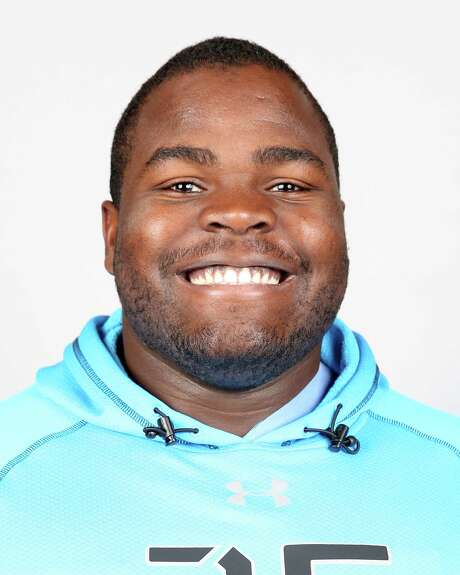 University of Notre Dame nose tackle Louis Nix poses for a headshot during the 2014 NFL Scouting Combine at Lucas Oil Stadium on Feb. 22, 2014 in Indianapolis, Ind. (AP Photo/Ben Liebenberg) Photo: Ben Liebenberg, CTR / National Football League2014