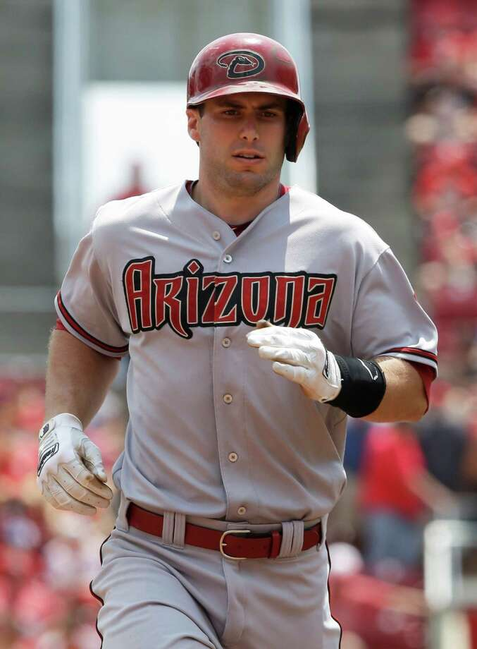Arizona Diamondbacks' Paul Goldschmidt rounds the bases after hitting a two-run home run against the Cincinnati Reds in the sixth inning of a baseball game, Wednesday, July 30, 2014, in Cincinnati. (AP Photo/Al Behrman) Photo: Al Behrman, STF / AP