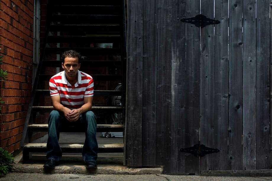 Elvin Rodriguez was a teenager when he left a dangerous world in Honduras for a better life in the United States. When he arrived, his journey was only just beginning. Photo: Johnny Hanson, Staff / © 2013  Houston Chronicle
