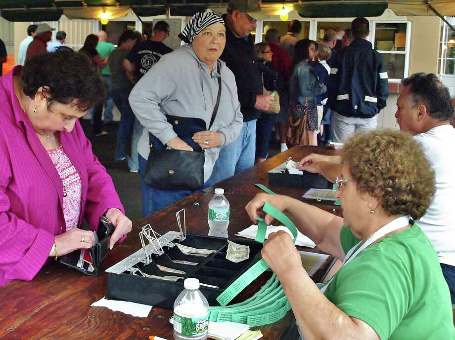 The annual Danbury Italian Festival was held on the weekend of August 1 - 3. Festival goers enjoyed dancing, drinking and traditional food like pizza fritta, gelato, zeppole at the Amerigo Vespucci Lodge #160. Were you SEEN on Saturday, August 2? Photo: Nuria Ryan
