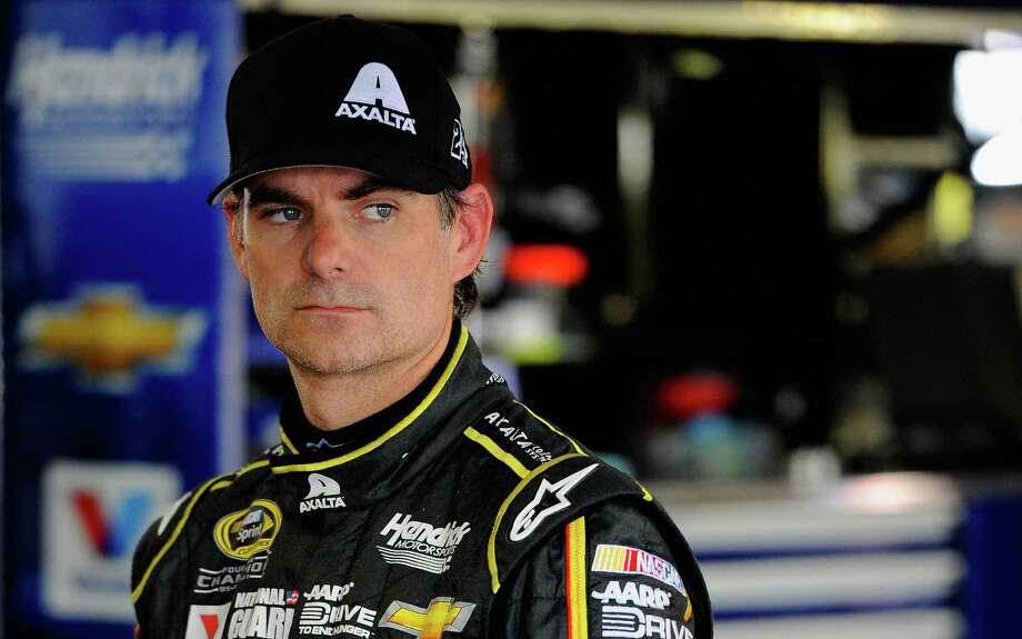 """Jeff Gordon, who turns 43 on Monday, has at times dealt with back pain this season while reaching the top of the Sprint Cup standings. """"Is it going to flare-up again? It could,"""" he said. Photo: Jared C. Tilton / Getty Images / 2014 Getty Images"""